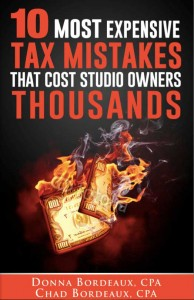 Tax Mistakes that Cost Studio Owners